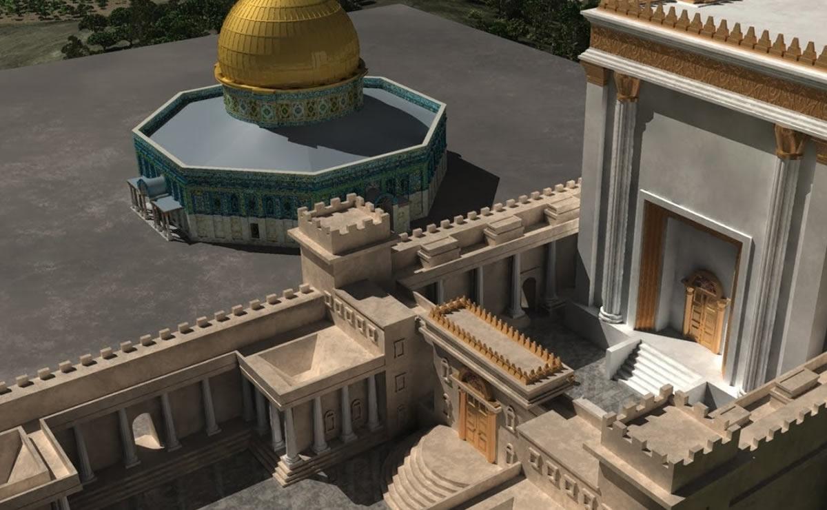 El Tercer Templo en Jerusalén